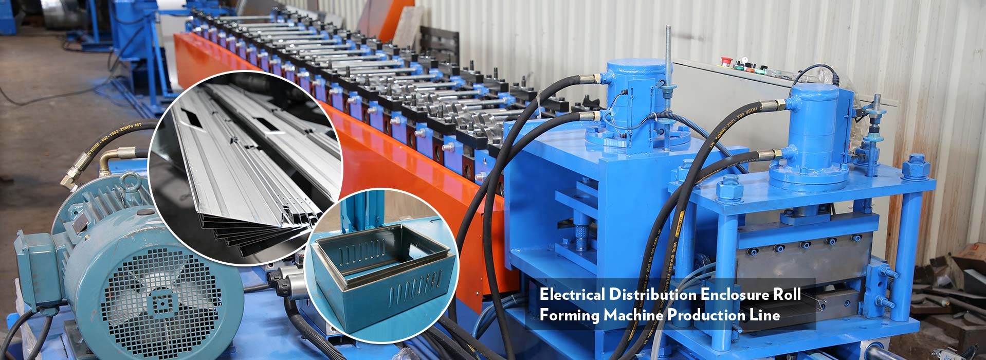 Electrical Cabinet Forming Machine
