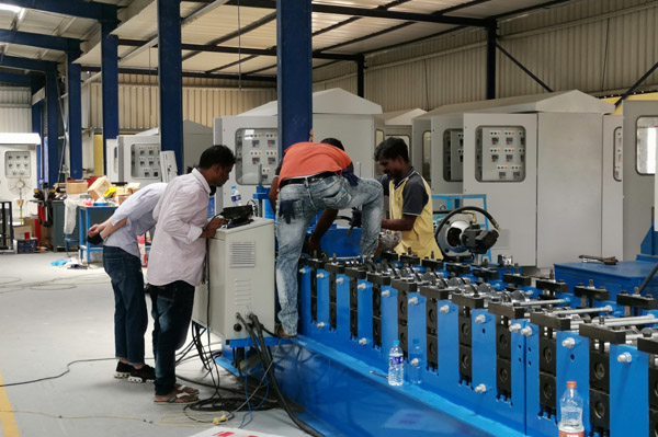 Roll forming machine training in India