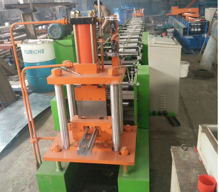 Storage Rack Shelf Metal Forming Machine