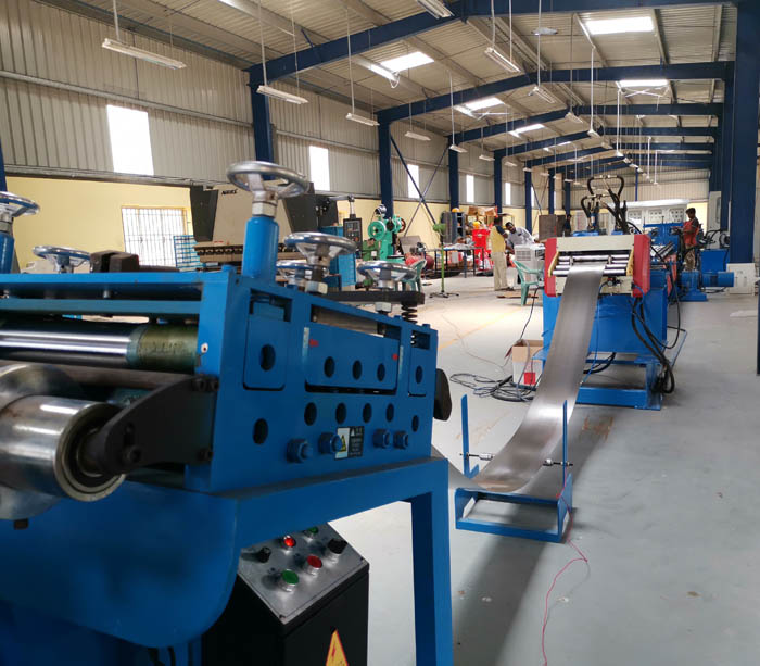 Low Voltage Switchgear Rack C Channel Roll Forming Machine