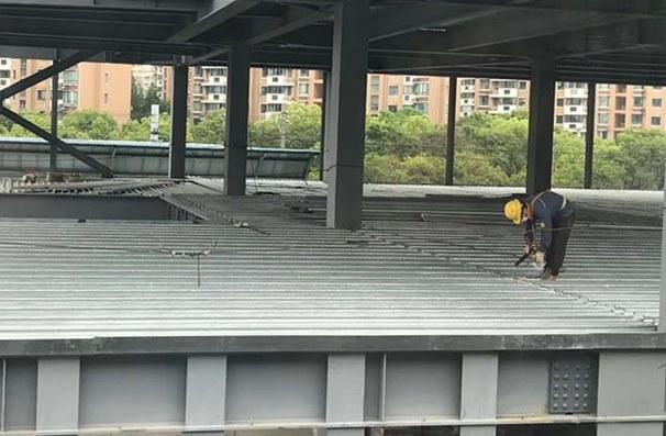 Floor Deck on Site