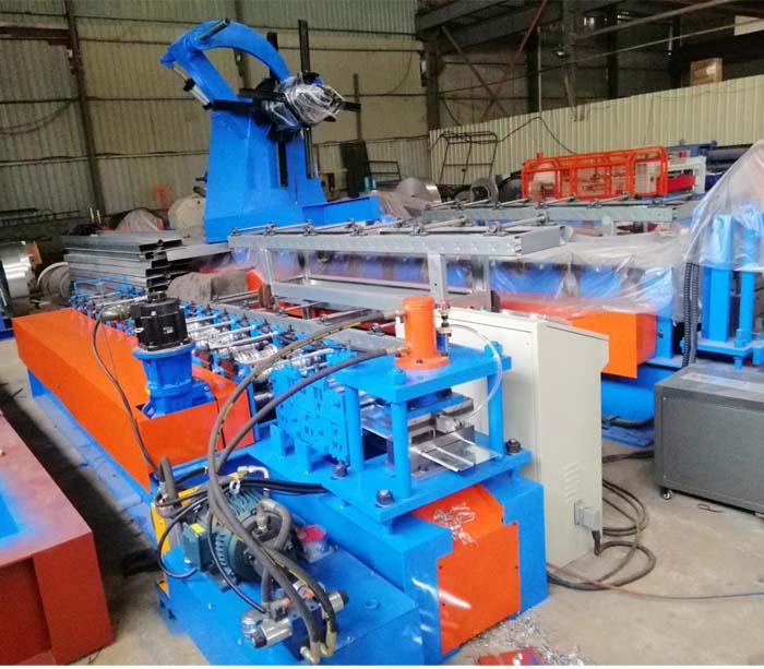 Fire Damper Roll Forming Machine
