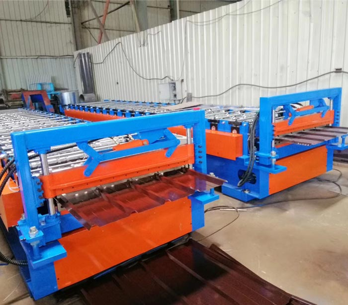 Roofing Sheet Roll Forming Machine Price