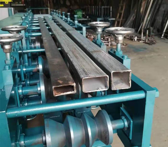 Mild Steel Rectangular Tube Roll Forming Machine