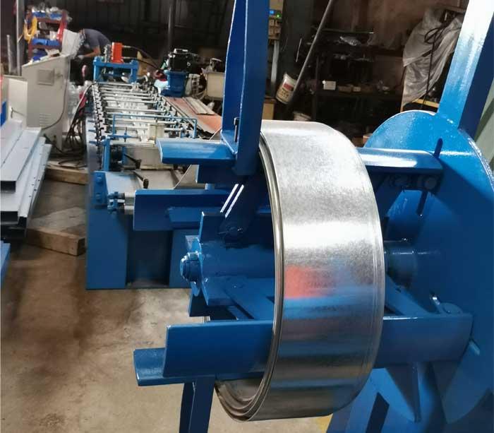 Smoke Exhaust Valve Roll Forming Machine