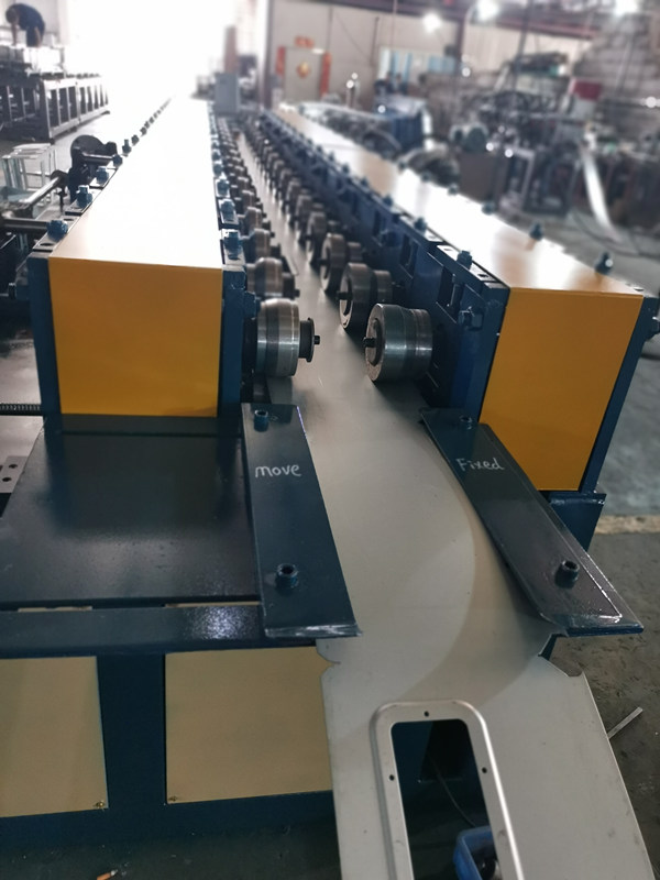 Export To Peru Roll Forming Machine Making Electrical Enclosure