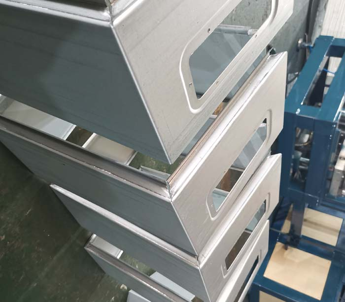 Panel Width Changeable Electrical Box Production Line