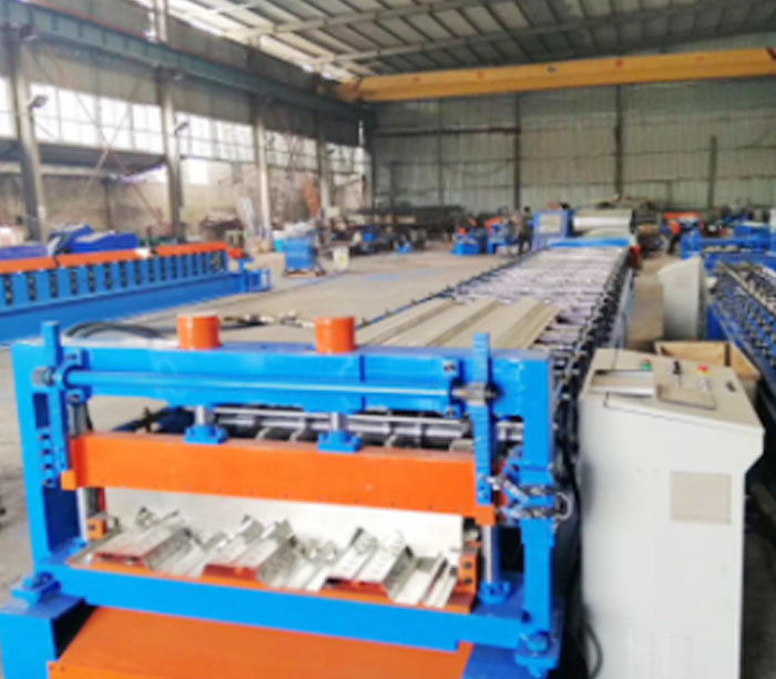 Guardrail Roll Forming Machine