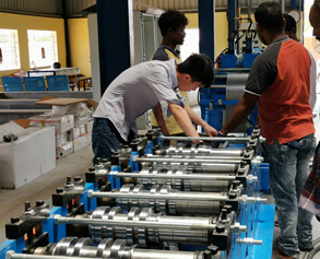 Roll forming service in India