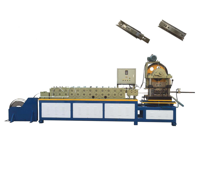 Ball bearing drawer runners machine