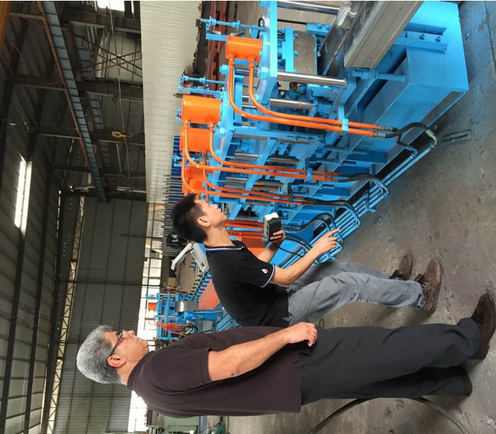 Equipment for production electronic control panel metal box