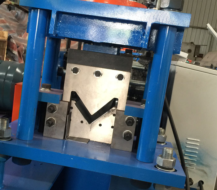 Metal L profile steel angle roll forming machine manufacturer