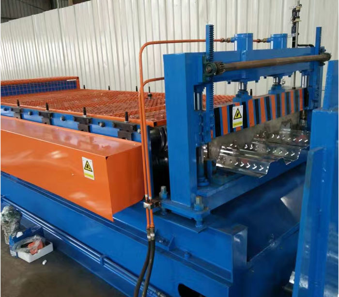 Good Quality Galvanized Steel Sheet Floor Decking Panel Roll Forming Machine
