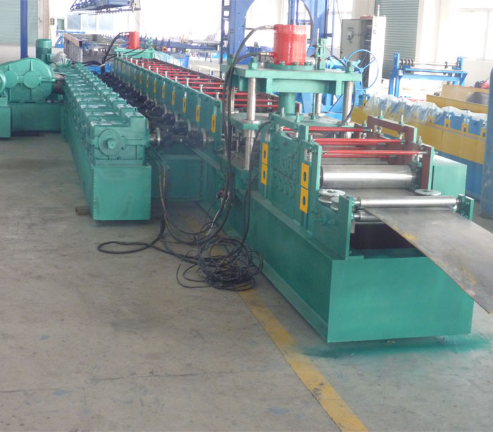 Highway Crash Barrier W Beam Forming Machine for Road Fence