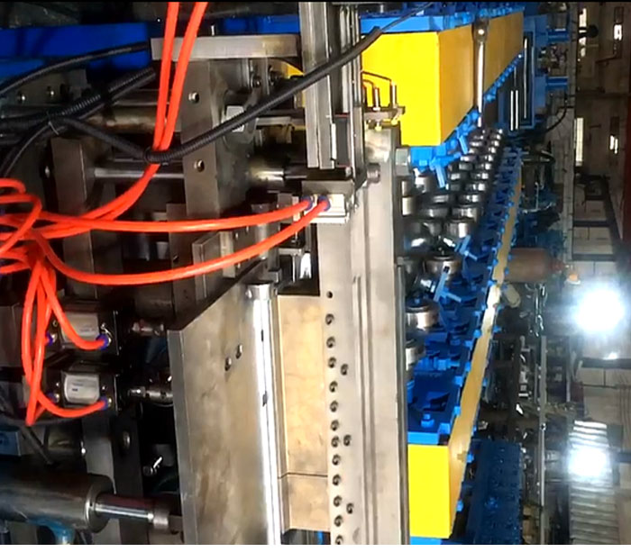 Metal Box door and cover forming machine