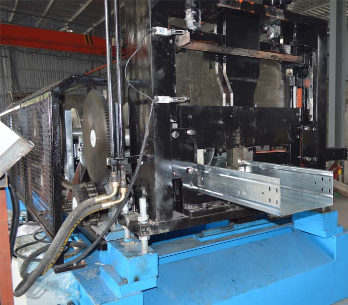 Automatic Metal Cable Tray Production Equipment