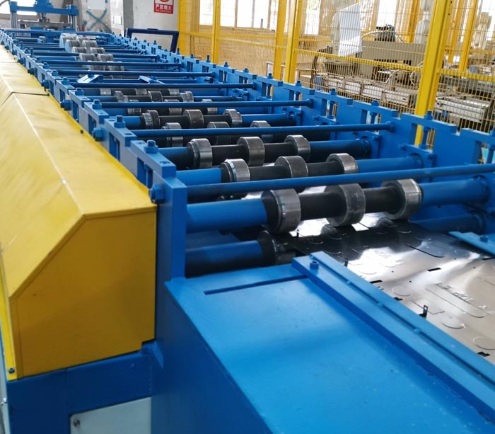 Metal Enclosure Roll Forming Machine Production Line