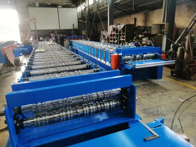 Metal Sheet Forming Machine for Floor Deck