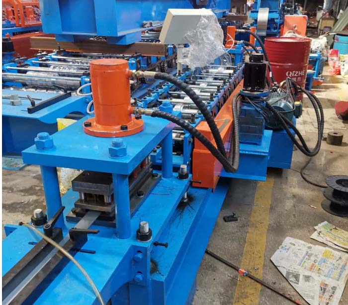 Slotted Din Rail Channel Roll Forming Machine For Sale