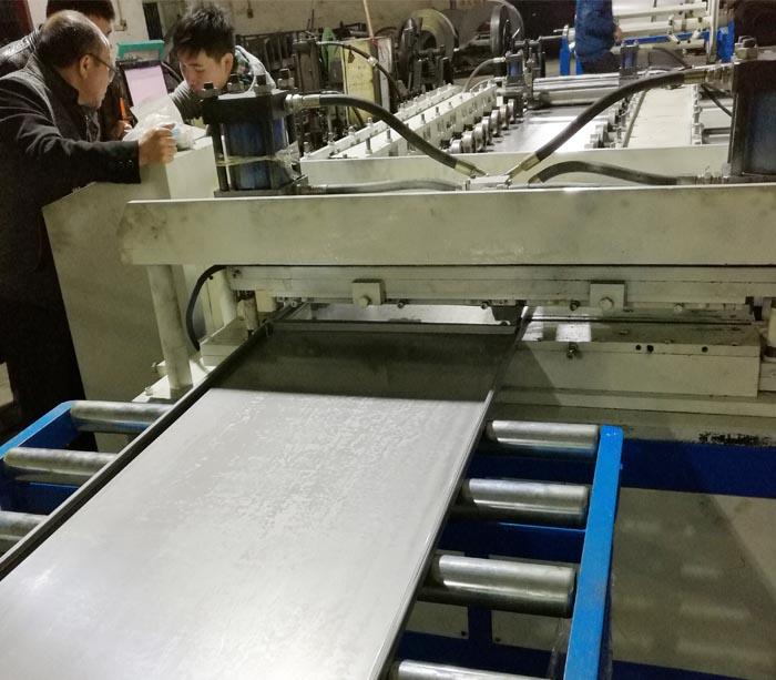 Steel Door Panel Roll Forming Machine