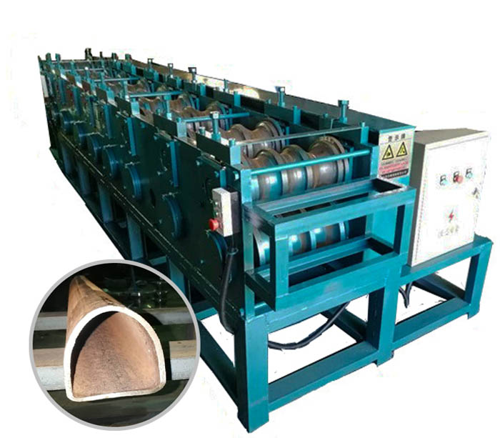 MS D Pipe Roll Forming Machine Production Line