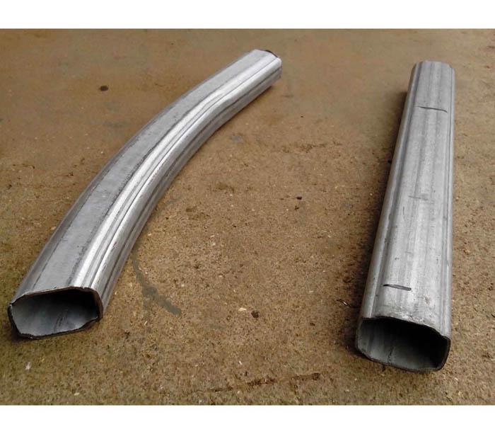 Steel Pipe Machine For Triangle, O Shape, P Shape, Oval